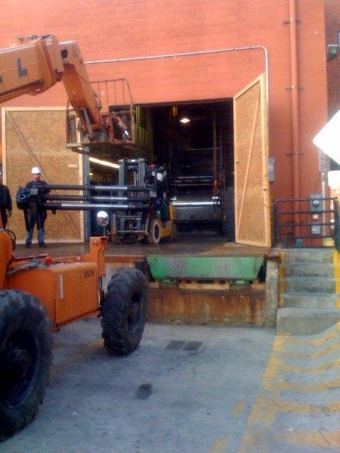 Daily Camera Goss Metro disassembly